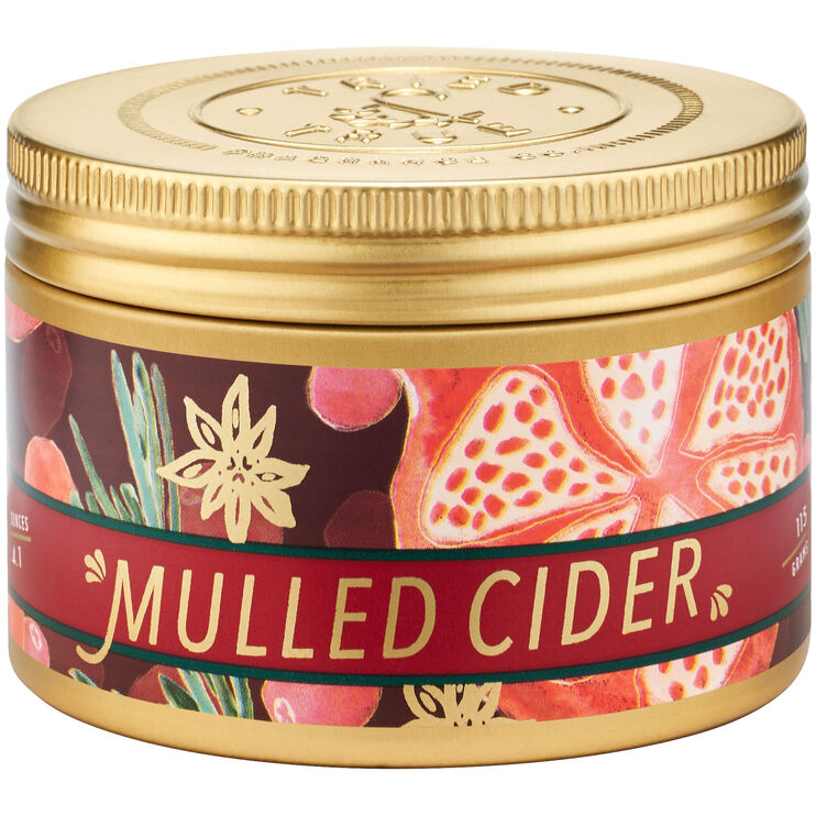 Tried and True Holiday Mulled Cider Small Tin Candle