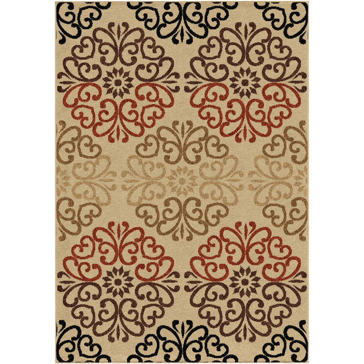 Four Seasons Clarkston Multi 8 x 11 Rug