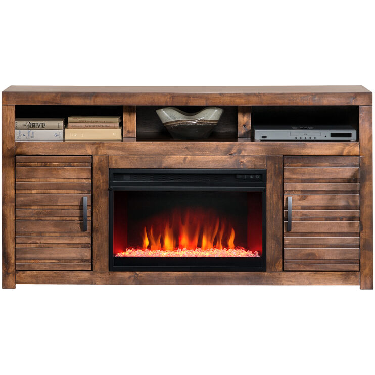 Sausalito 62in Fireplace Console