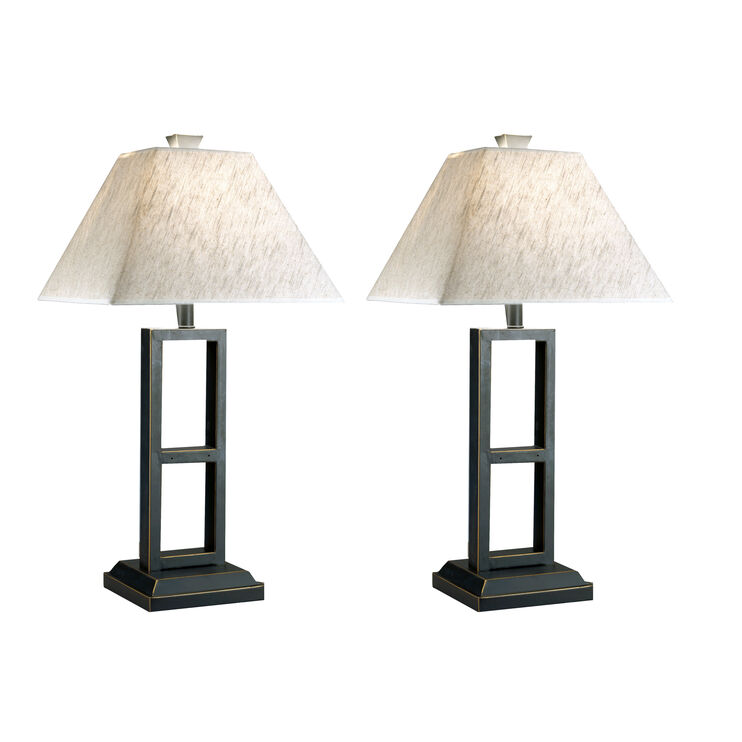 Deidra Set of Two Table Lamps
