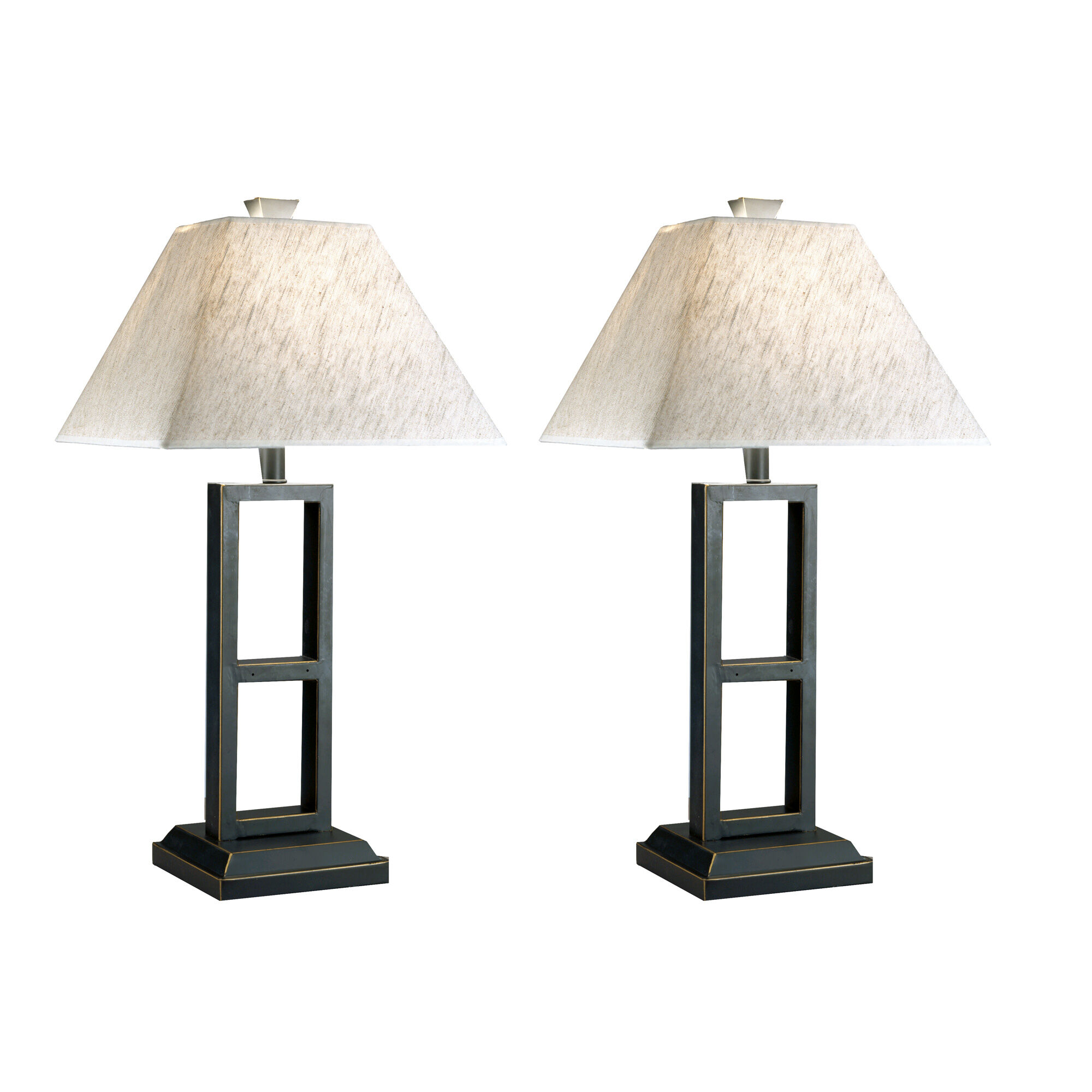 Deidra Set of Two Table L&s  sc 1 st  Slumberland Furniture & Slumberland Furniture | Deidra Set of Two Table Lamps