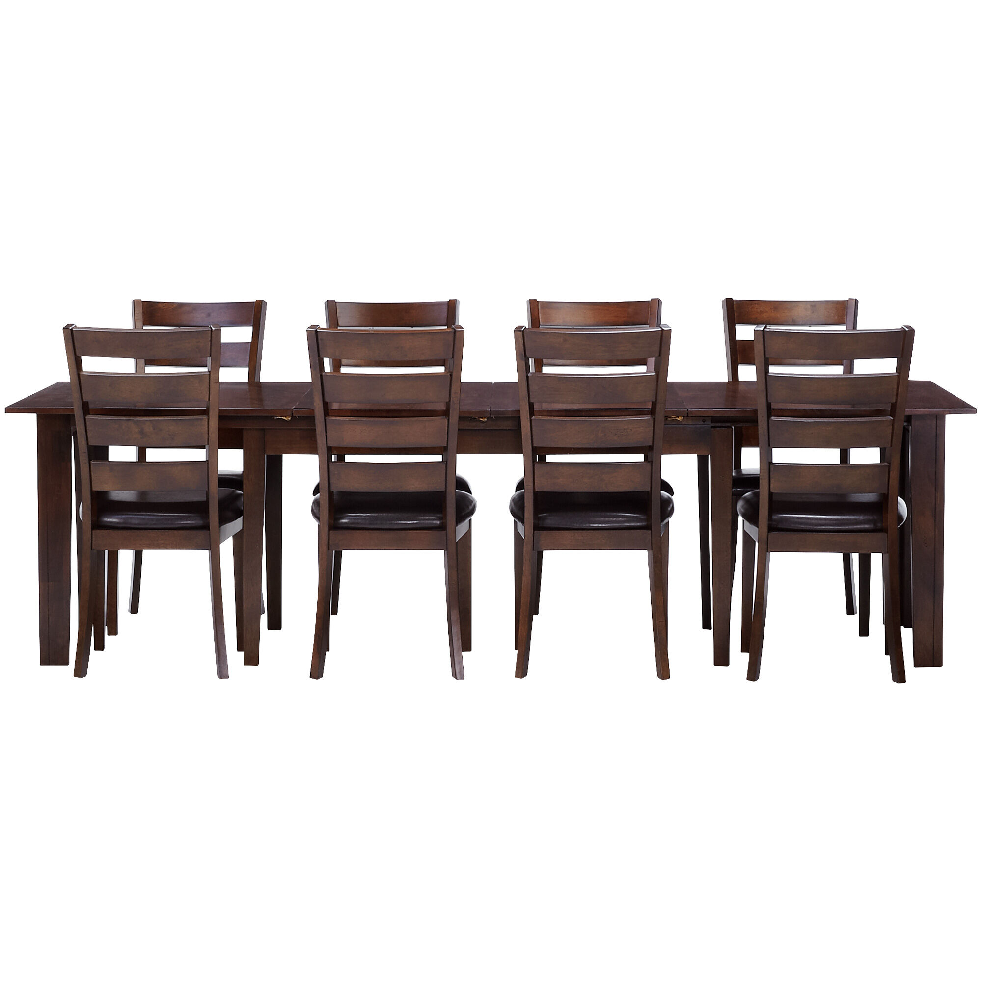 Marvelous Slumberland Furniture Kona 9 Piece Raisin Ladder Back Gmtry Best Dining Table And Chair Ideas Images Gmtryco