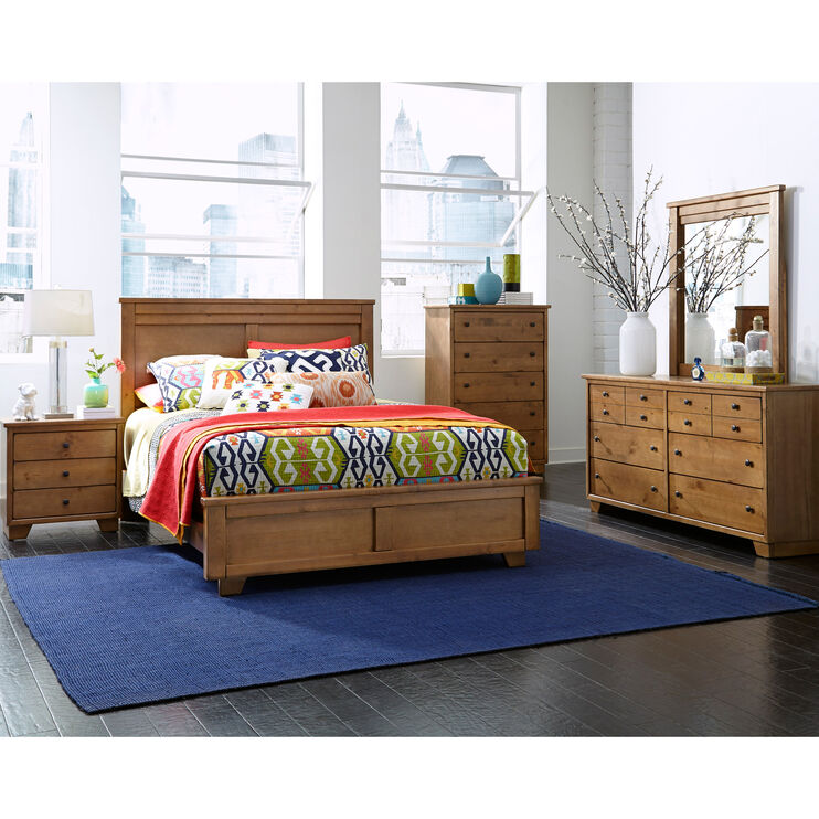 Diego 4 Piece Dune King Package with Metal Rails