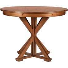 Willow Distressed Pine Round Counter Table