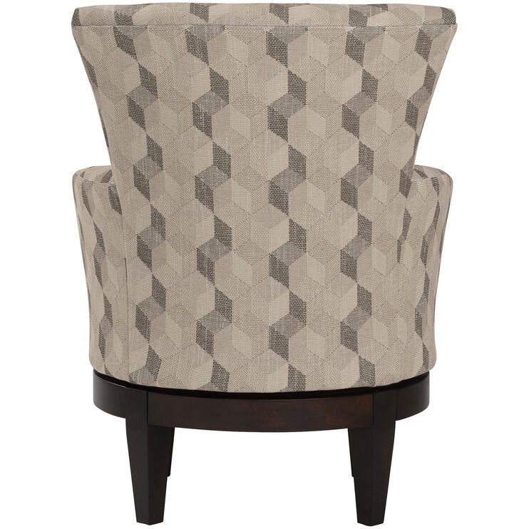Justine Swivel Accent Chair Chairs Slumberland
