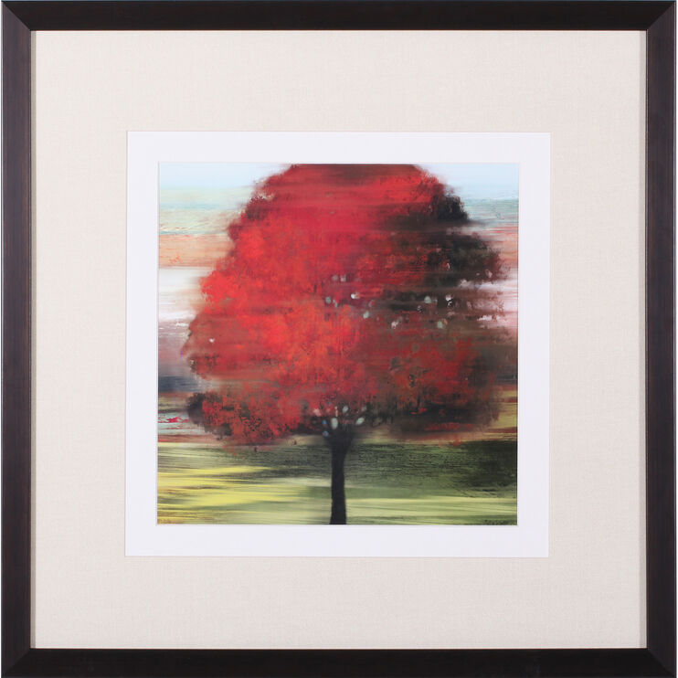 Flow Trees I Petite Framed Art