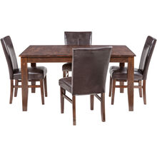 Kona 5 Piece Parsons Dining Set