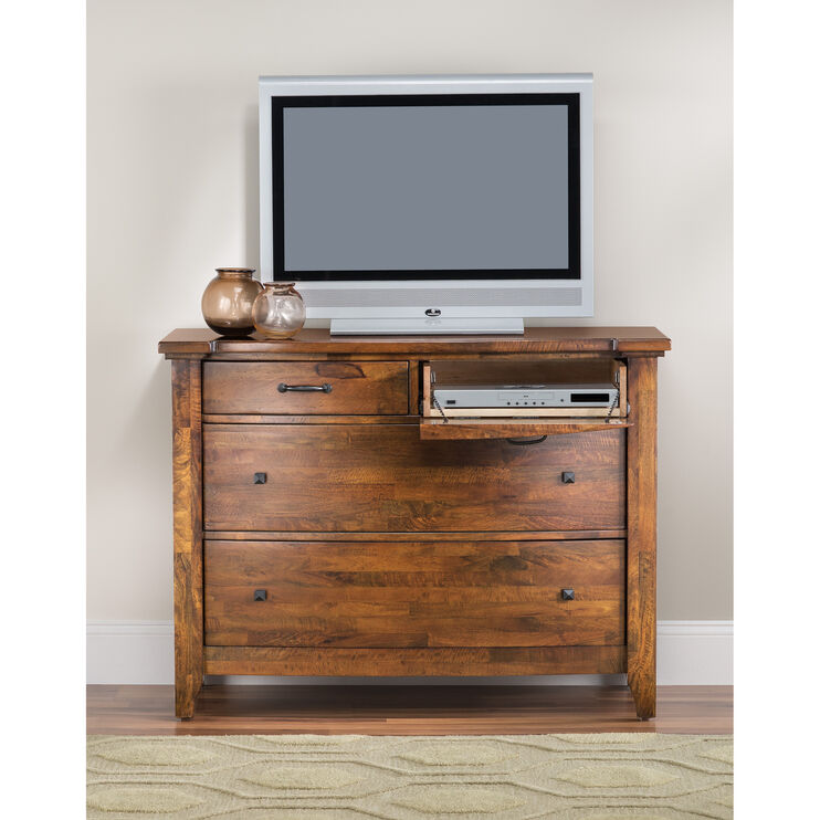 Whistler Retreat Dark Walnut Media Chest