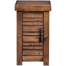 Sausalito Whiskey Storage Chairside Table