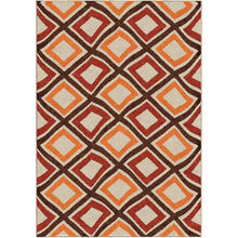Veranda Broad Street Red 8 x 11 Rug