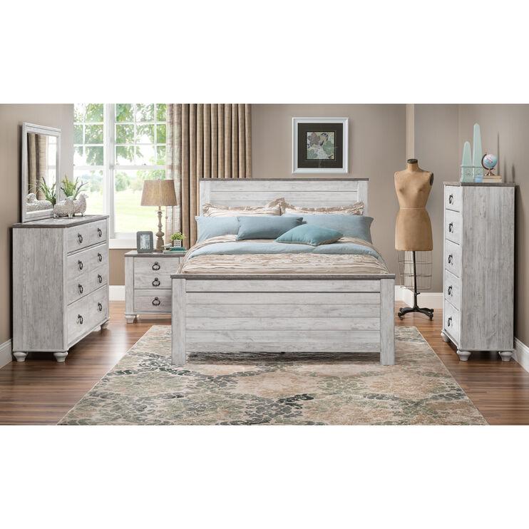 Willowton Whitewash Full Bed