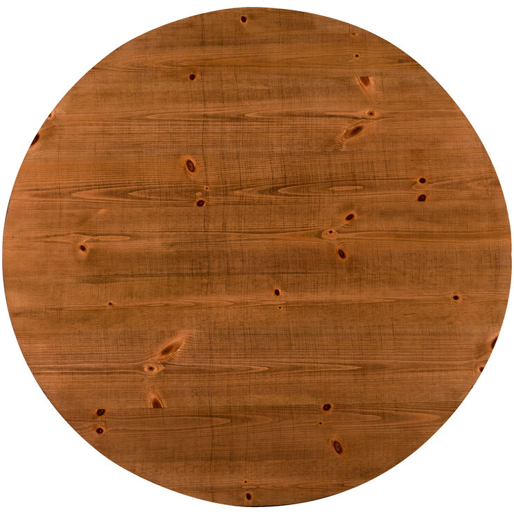 Willow Pine Round Counter Table
