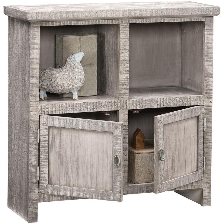 Fowler Gray 2 Door Cabinet