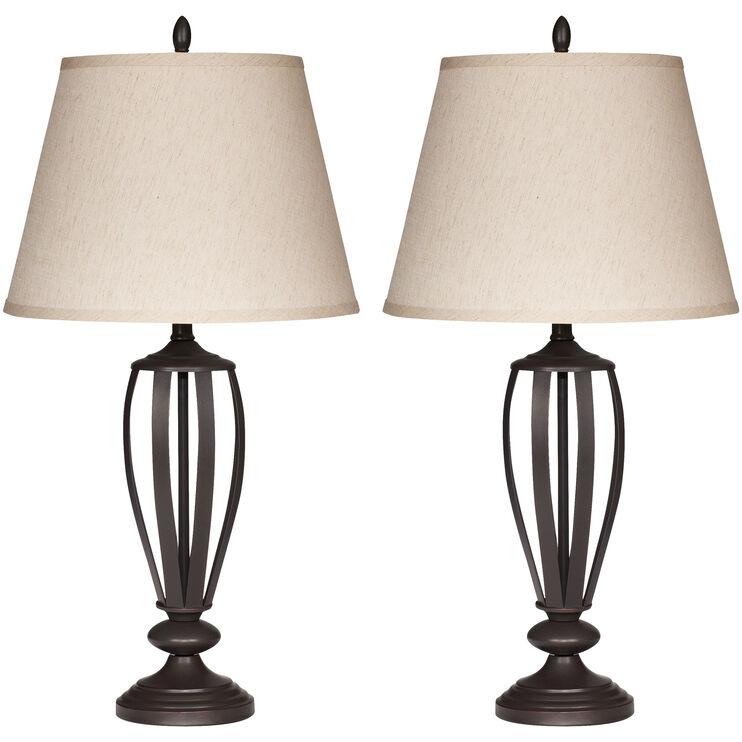 Ashland Bronze 2 Table Lamps