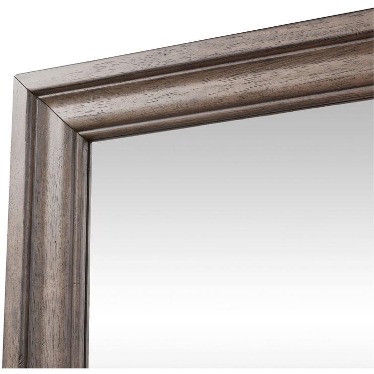 Harvest Home Brown Mirror