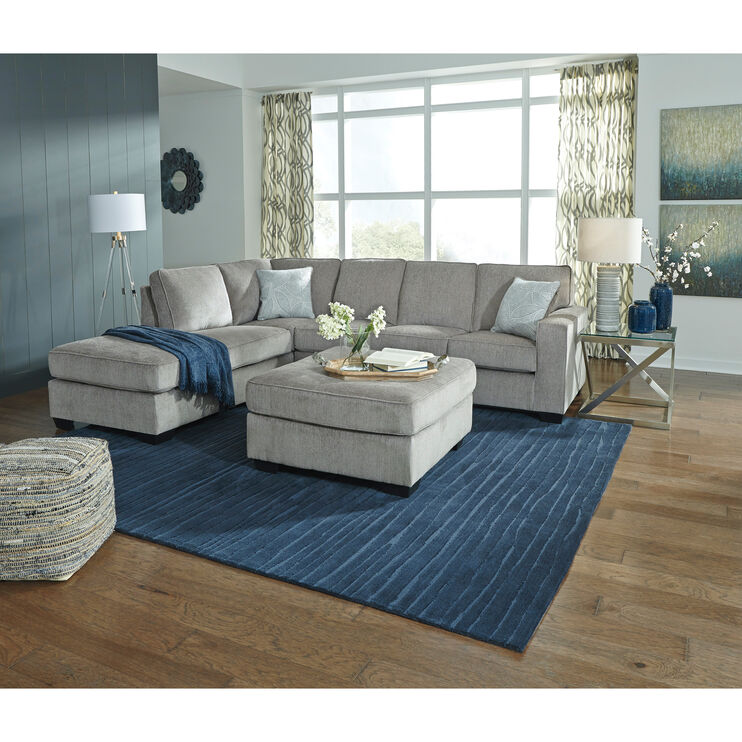 Riles Alloy Left Chaise Sectional