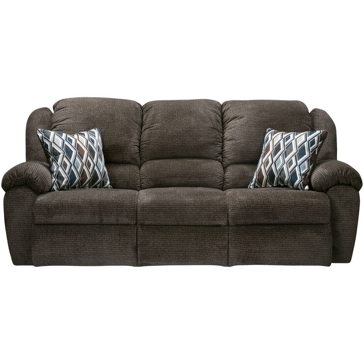 Burnaby Brown Reclining Sofa