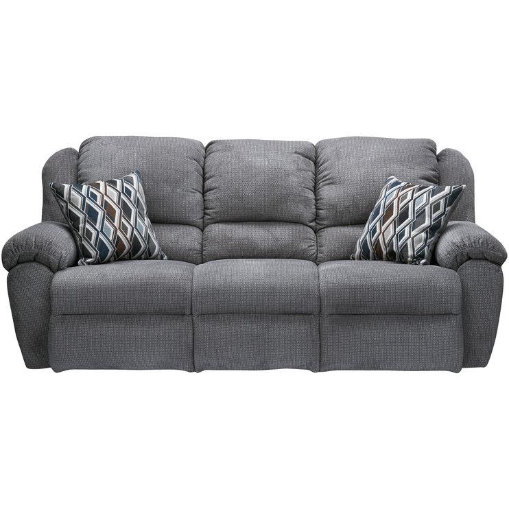 Burnaby Gray Pwr Recl Sofa