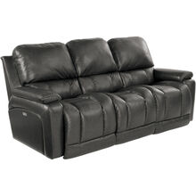 Greyson Charcoal Power Reclining Sofa