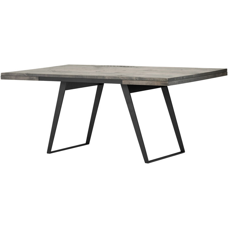 Uptown Mist Gray Dining Table