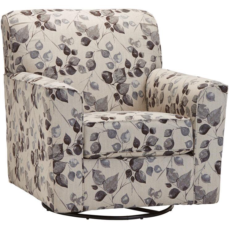 Tremendous Cyprus Platinum Swivel Chair Slumberland Furniture Pdpeps Interior Chair Design Pdpepsorg