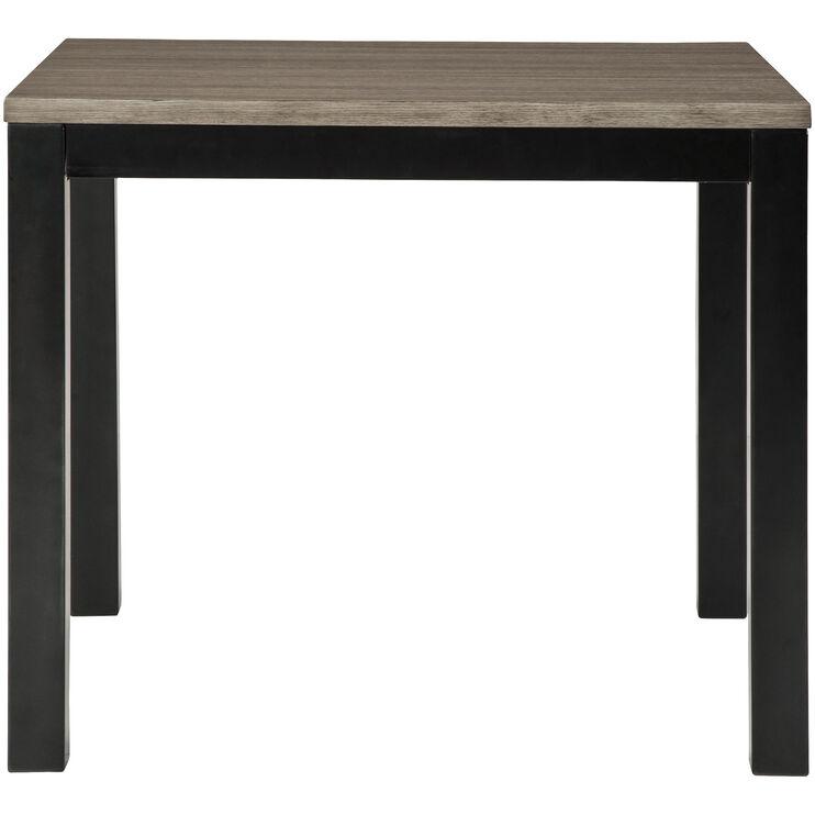 Dontally Gray Pub Table