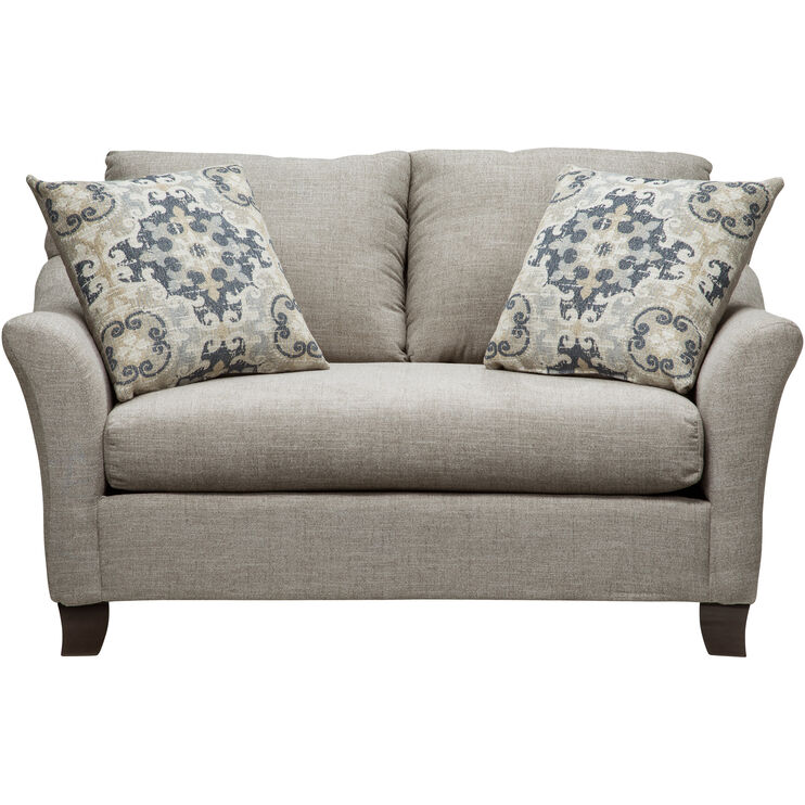 Rhine Gray Loveseat