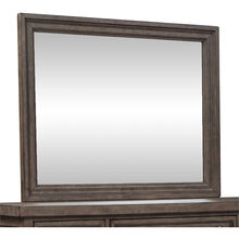 Harvest Home Brown Mirror