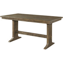 Charleston Barley Oak Counter Dining Table