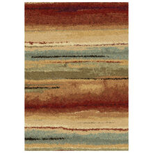 Wild Weave Dusk to Dawn Varigated Stripes 8 x 11 Rug