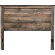 Trinell Rustic Plank Queen Panel Headboard
