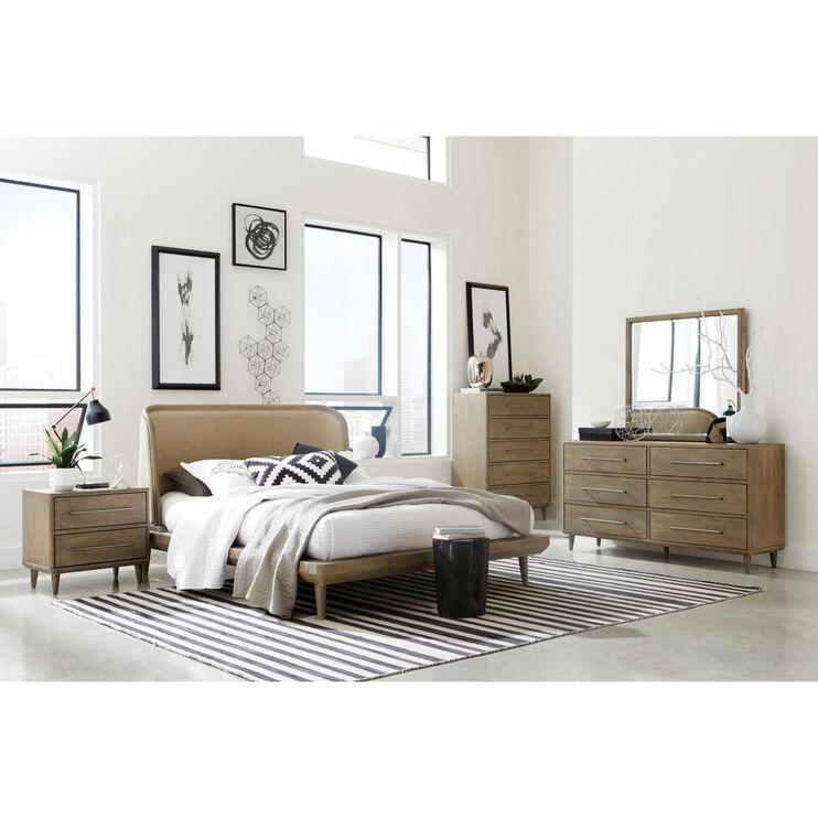 Juno Antique Mocha King Bed