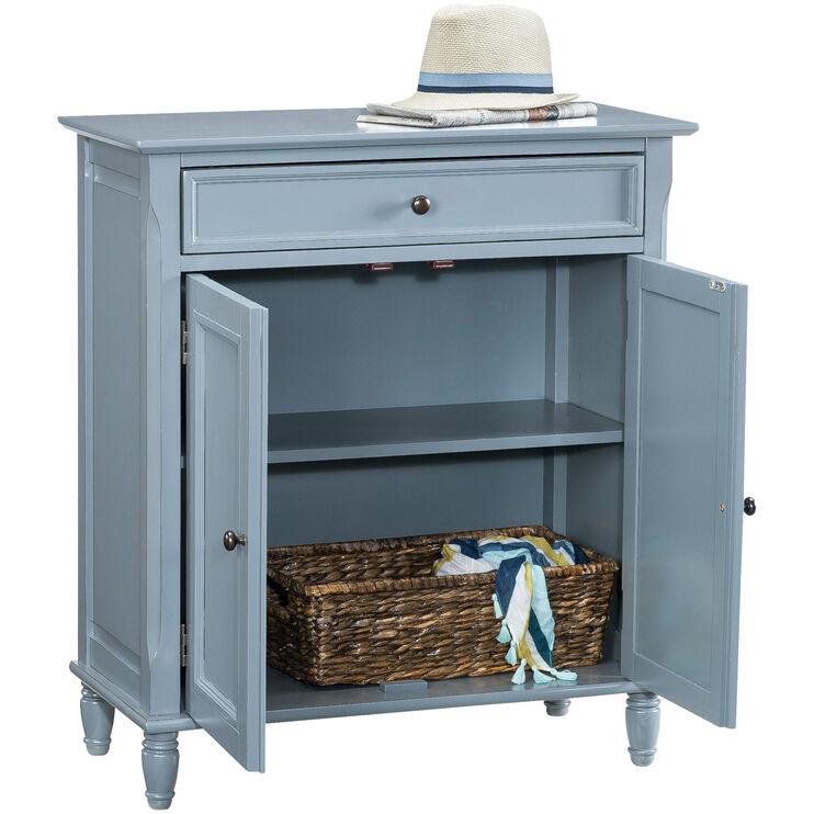 Avignon Blue 2 Door Cabinet
