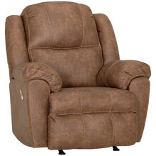Rufford Tan Power Rocker Recliner