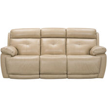 Rhodes Tan Power+ Reclining Sofa