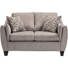 Andorra Pewter Loveseat