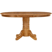 Jefferson Chestnut Laminate Pedestal Table