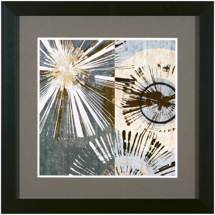 Outburst Tiles I Framed Art