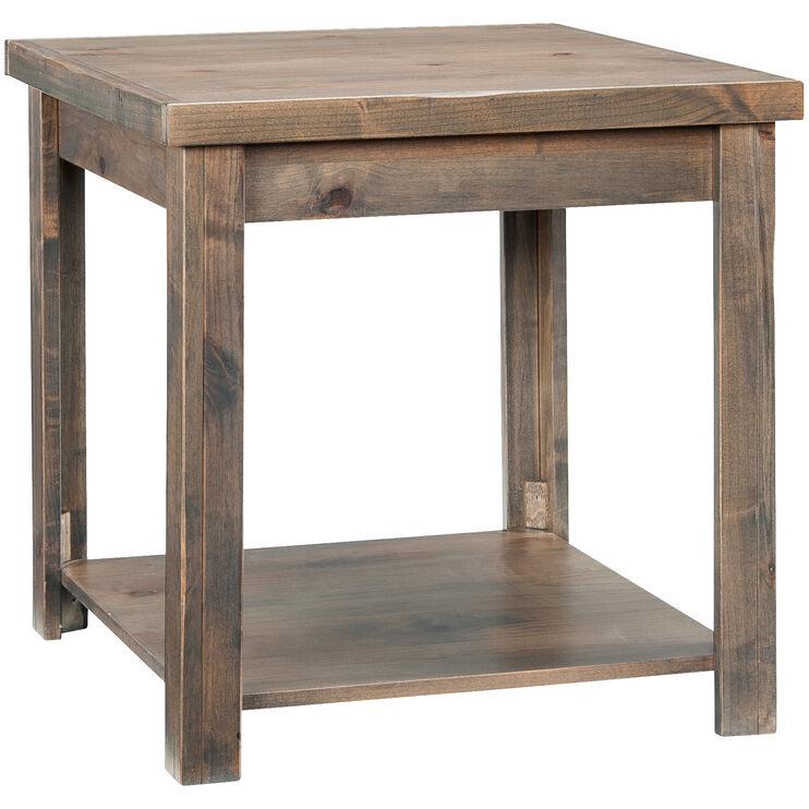 Joshua Creek Barnwood End Table