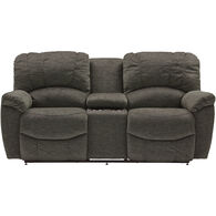 Hayes Reclining Console Loveseat