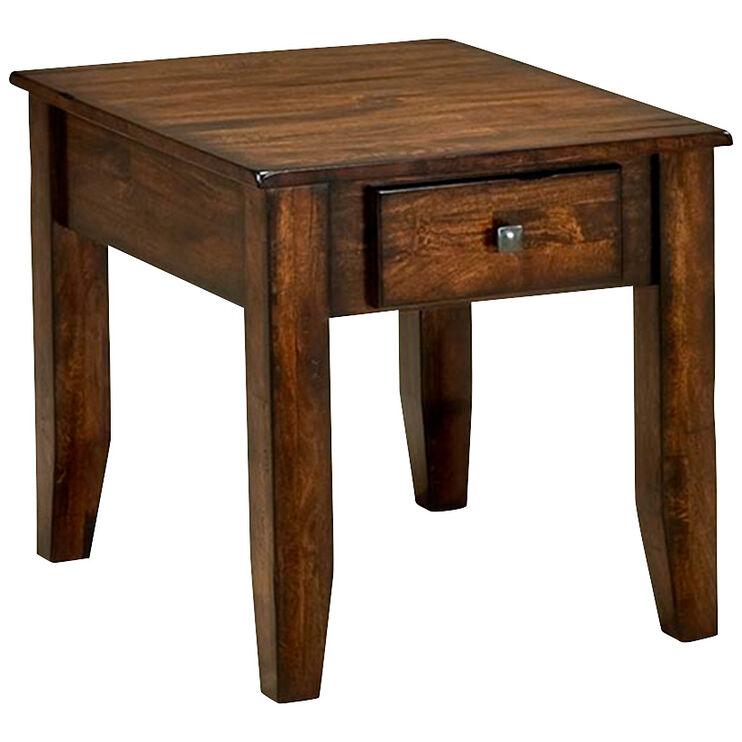 Kona Raisin End Table