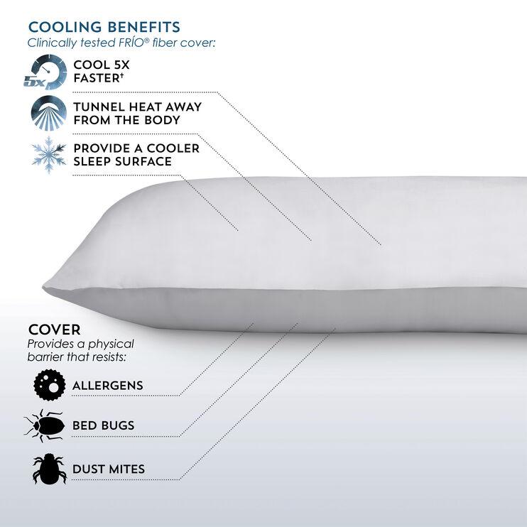 Sub-0 White Body Pillow