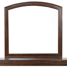 Avalon Dark Brown Arched Mirror