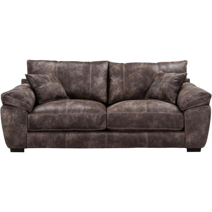 Slumberland Furniture Monza Brown Sofa