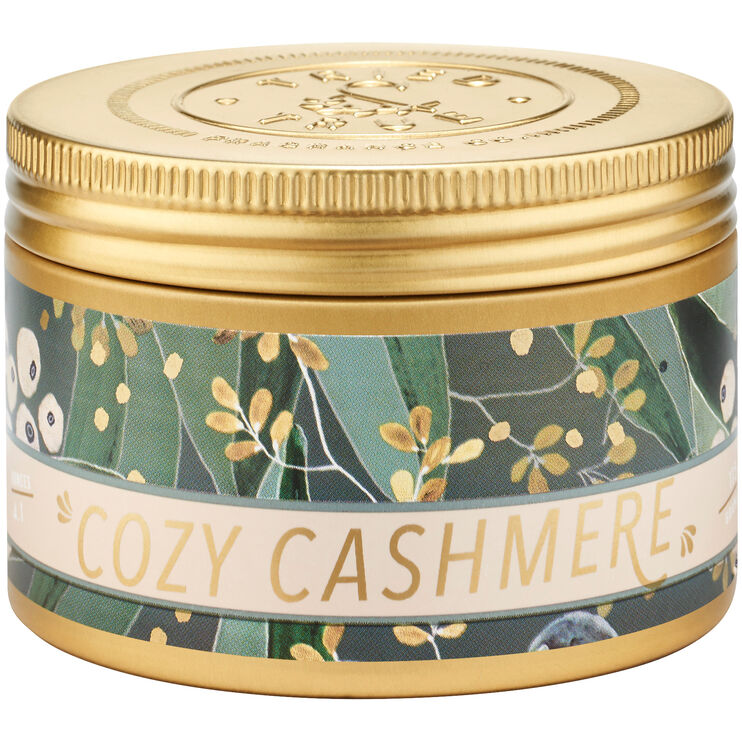 Tried and True Holiday Cozy Cashmere Small Tin Candle