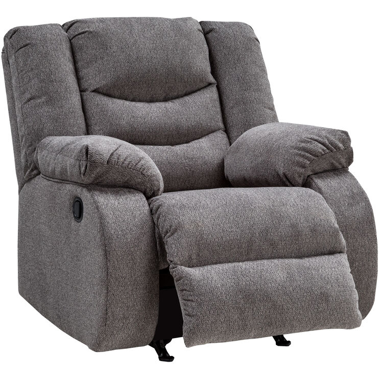 Kent Gray Rocker Recliner