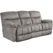 Morrison Silver Power Plus Reclining Sofa