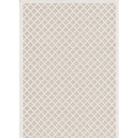 Fusion Lattice Natural Driftwood Off White Runner
