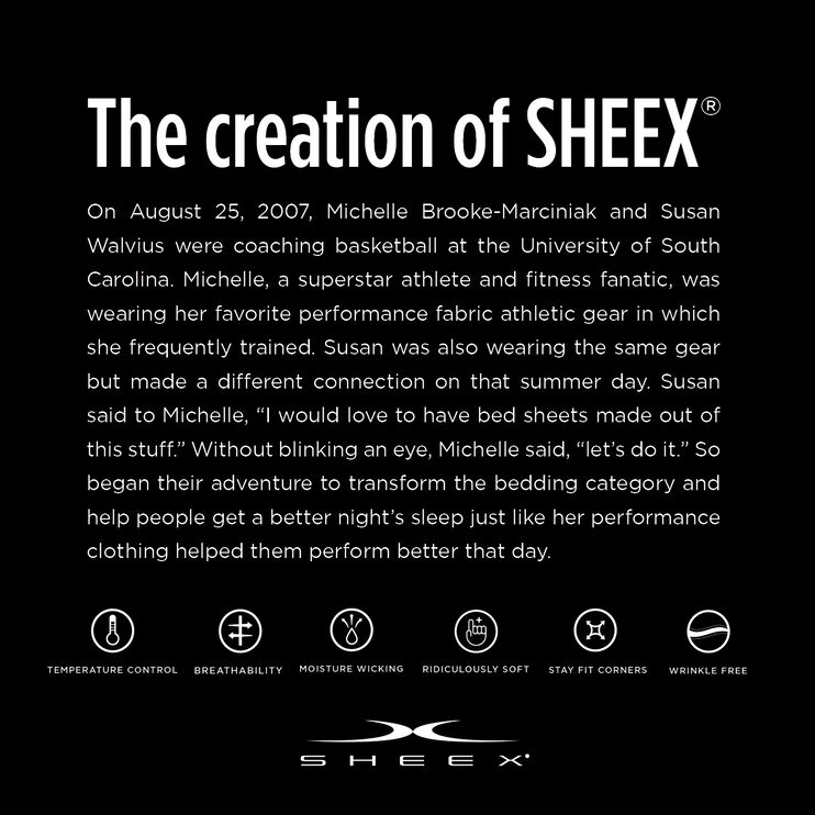 SHEEX Aero Fit Graphite Queen 6 Piece Duvet Set