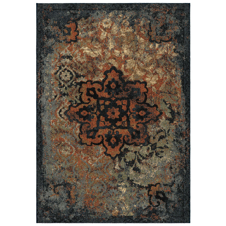 Millenium Distressed Kirman 5 x 8 Rug